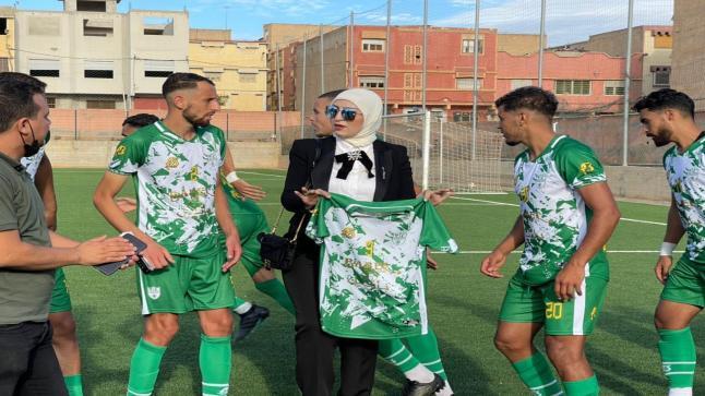 الهلال الناظوري يفوز على فريق سيدي سليمان شراعة بثلاثية مقابل هدف وحيد .